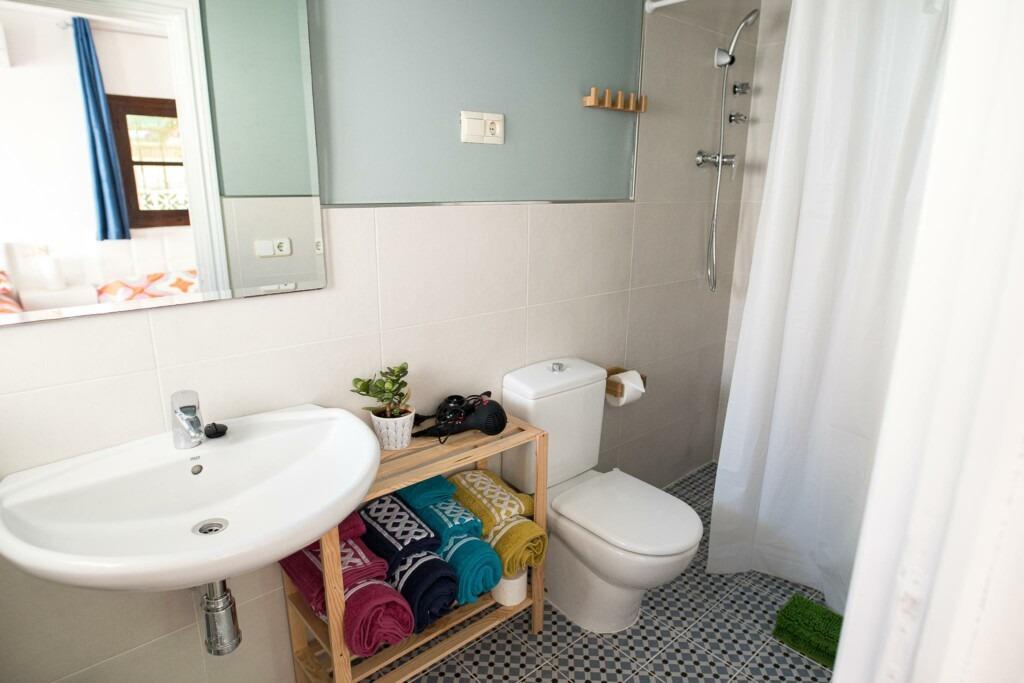 Habitación Familiar Baño