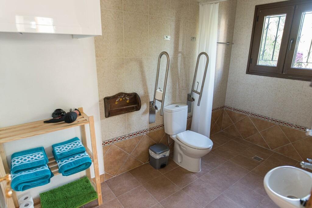 Habitación Tranquila Baño 1